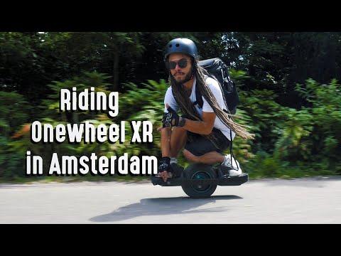 Riding Onewheel XR in Amsterdam