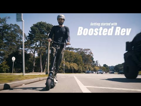 How to Ride an Electric Scooter - Getting Started with Boosted Rev