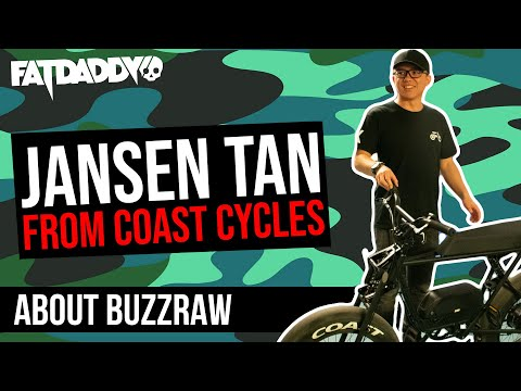Jansen Tan from Coast Cycles about the Buzzraw | Fatdaddy Podcast #2