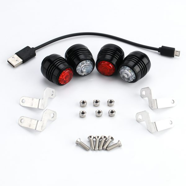 Skateboard lights (4x)