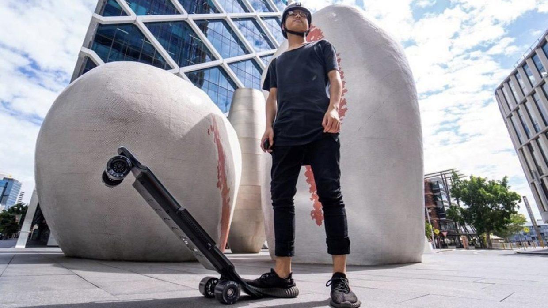 Electric skateboards legal in Denmark