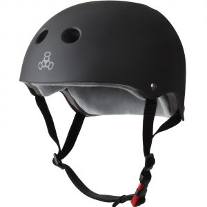 Triple Eight The Certified Sweatsaver Helmet - Color : Black