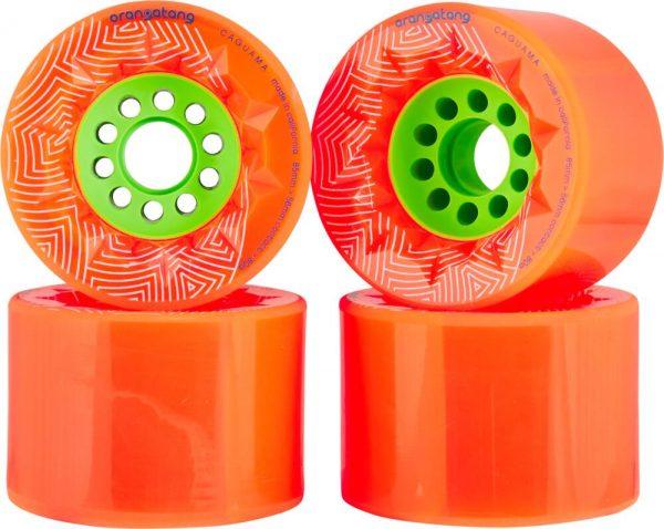 Orangatang caguama wheels orange - 85mm (set of 4 wheels)