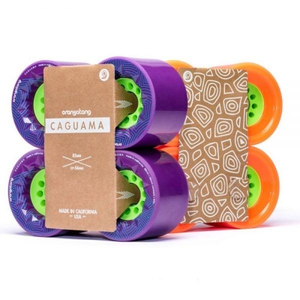 Orangatang caguama wheels purple - 85mm (set of 4 wheels)