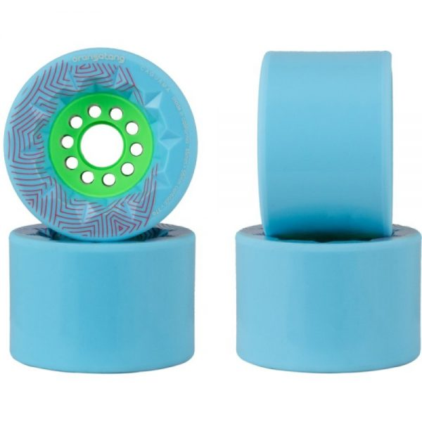 Orangatang caguama wheels turquoise - 85mm (set of 4 wheels)