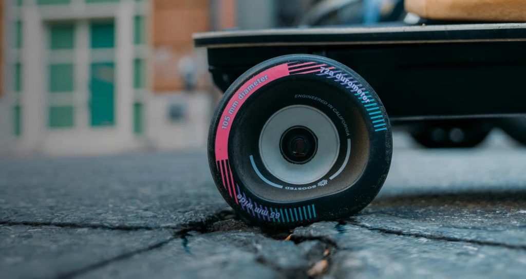 Hvorfor Boosted 105'erne er de bedste hjul til dit Boosted elektriske skateboard