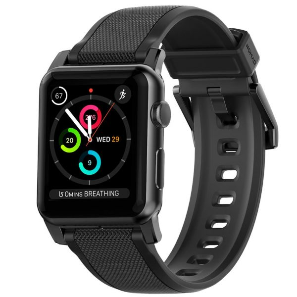 Nomad Apple Watch strap - Rugged - Black - Black