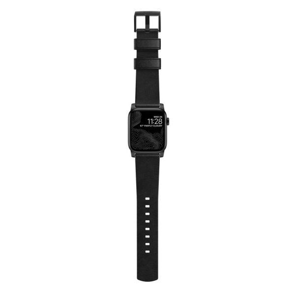 Nomad Apple Watch strap - Modern - Black - Black