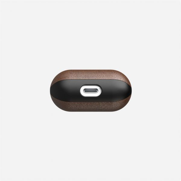 Nomad AirPods Case – Rustic Brown Leather